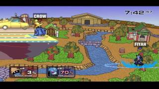 Flight of The Crow ~ An SSF2 Combo Video