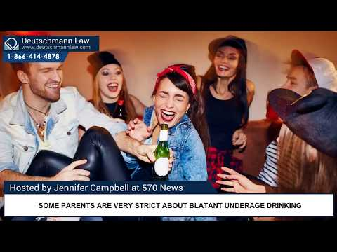 Social Host Liability - Teenager Parties