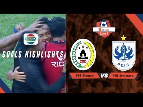 PSS Sleman - PSIS Semarang 1:3. Видеообзор матча 17.07.2019. Видео голов и опасных моментов игры