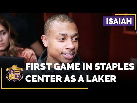 Video: Isaiah Thomas REACTION To Playing His Home Game With The Lakers