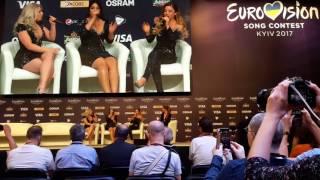 "Video OG3NE singing ""Hold on"" (Wilson Phillips) in the Press Conference (Eurovision Song Contest 2017) MP3, 3GP, MP4, WEBM, AVI, FLV Juni 2017"