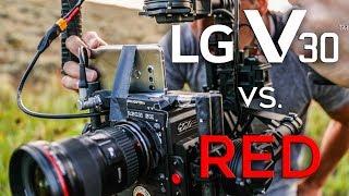 LG V30 vs. $50,000 RED Weapon - Replicating the Walter Mitty Longboard Scene