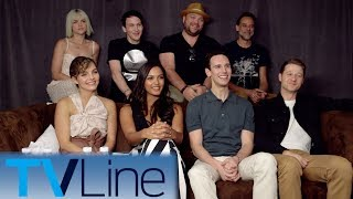 "The ""Gotham"" cast drops Season 4 scoop for Michael Ausiello at Comic-Con 2017. ► http://bit.ly/TVLineSubscribehttp://tvline.comFollow Us On SocialTwitter http://twitter.com/MichaelAusiello, http://twitter.com/TVLineFacebook http://www.facebook.com/pages/TVLineGoogle+ http://plus.google.com/+TVLine"