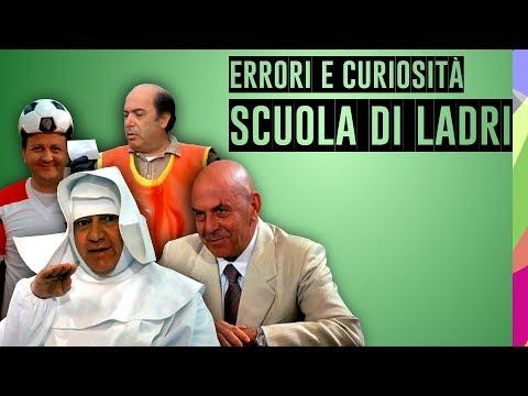 Frases celebres - SCUOLA DI LADRI - ERRORI, CURIOSITÀ E FRASE FAMOSA - PAOLO VILLAGGIO, MASSIMO BOLDI, LINO BANFI