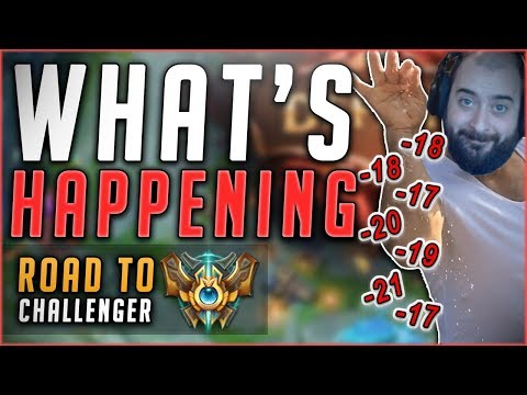 GIVE BACK MY ELO! RECOVERING FROM MY WORST DAY EVER FT. GOSU! - Road To Challenger League Of Legends