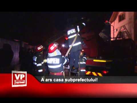 A ars casa subprefectului!