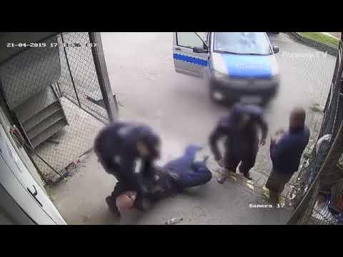 Policjanci rzucili gościem o glebę, bo nie miał przy sobie dowodu – Białystok