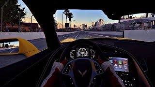 PC2 Chevrolet Corvette ZO6 2017 Drivers view / Cockpit view gameplay at Long Beach USA on PC in 4K HD 60FPS. WIP Beta Build - Work in progressSupport me/Donate: https://youtube.streamlabs.com/UCfVhjM2_XVvO5eGbOK-MO0AFollow me on Twitter: https://twitter.com/ChrisZanarBecome my Patreon: https://www.patreon.com/ZanarAesthetics