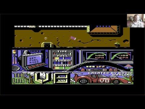 Lukozer Retro Game Review 410 - The Last V8 - Commodore 128