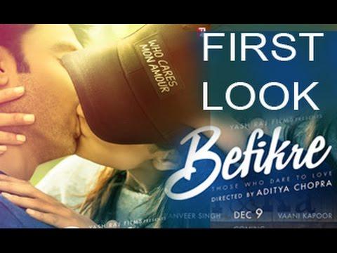 Befikre-First-Look-is-SMOOCHING-Poster-Ranveer-Singh-Vaani-Kapoor-Aditya-Chopra-YRF