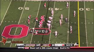 Chris Borland vs Ohio St (2013)