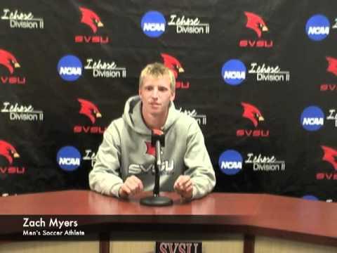 Zach Myers - SVSU Soccer