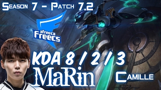 AFs MaRin CAMILLE vs SINGED Top - Patch 7.2 KR Ranked