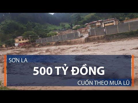 Sơn La: 500 tỷ đồng cuốn theo mưa lũ | VTC1 - Thời lượng: 5 phút, 22 giây.