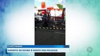 Suspeito de assalto é morto por policiais à paisana em Itapetininga