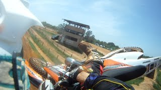 Railing so hard, it might hurt your feelings: 2012 KTM 250SX: Derek Howerton: Cycle Ranch MX