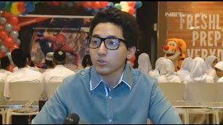 Aron Ashab merayakan ulang tahunnya ke 21