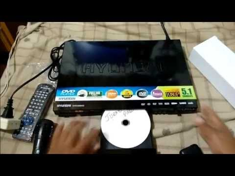 DVD Player Hyundai HYDV 955 HD Unboxing
