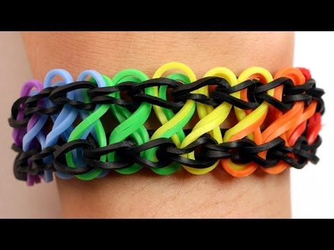 Rainbow Loom Nederlands – Double Infinity Armband || Loom bands, rainbow loom, nederlands, tutorial