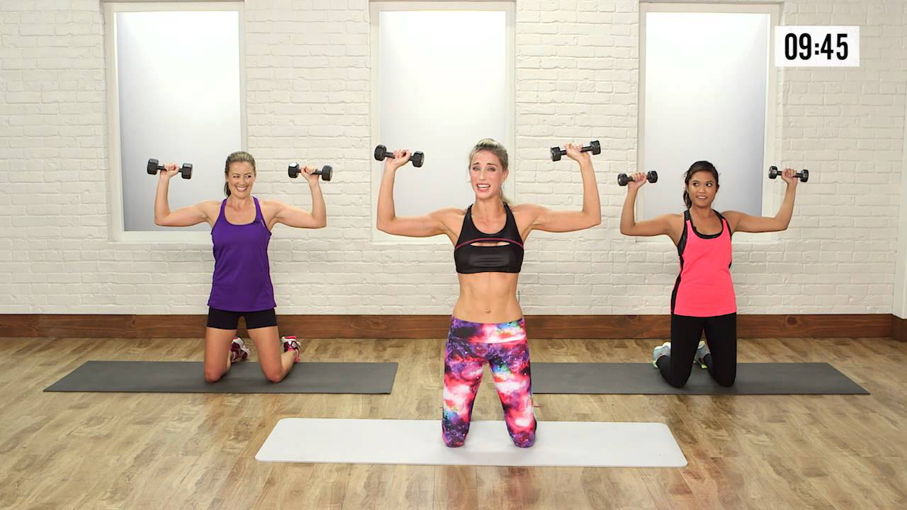20-Minute High Intensity Workout | Class FitSugar