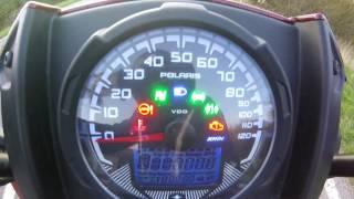 9. POLARIS SPORTSMAN 570 SP Top speed / vitesse max / accélération km/h + mph
