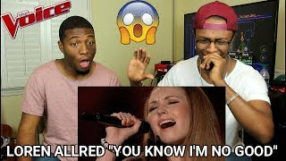 The Voice - Loren Allred : You Know I'm No Good