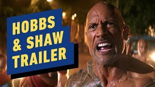 Fast & Furious Presents: Hobbs & Shaw - Trailer 2 (2019) Dwayne Johnson, Jason Statham by IGN