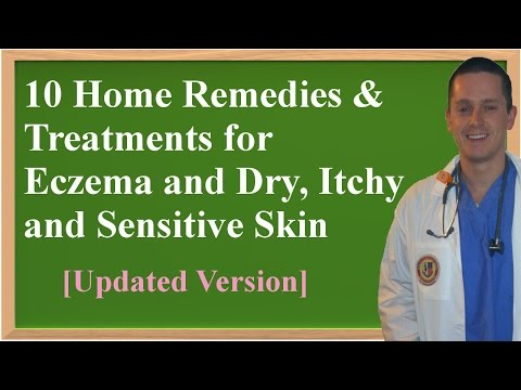 10 Home Remedies & Treatments for Eczema and Dry, Itchy and Sensitive Skin (видео)