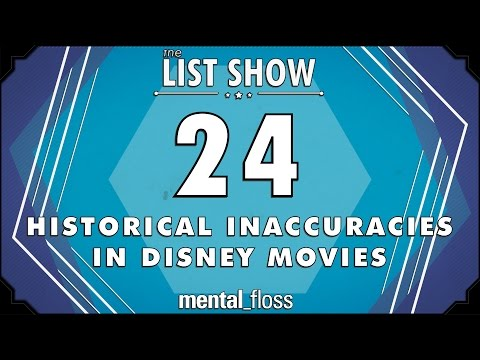 24 Historical Inaccuracies in Disney Movies
