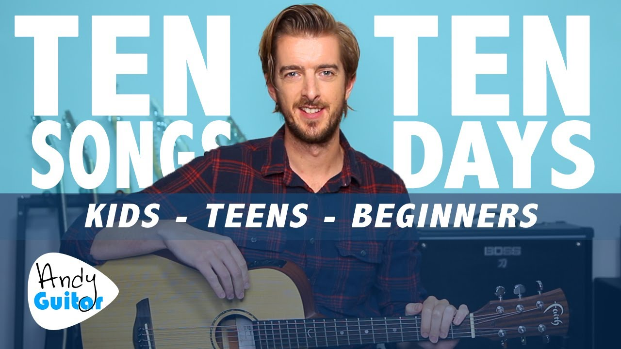 Guitar Lesson 8 for Kids // LEARN 10 SONGS IN 10 DAYS