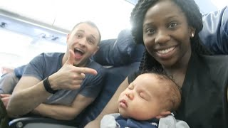 We went on our first trip with Kian to meet his family in Nigeria. See how he did on his first flight, how he beat the heat and met all ...