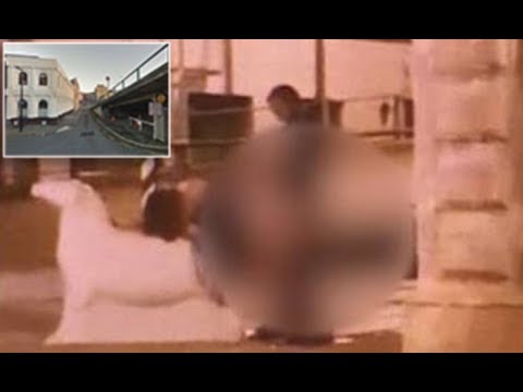 Shocking moment NZ couple are c aught having s ex roadside