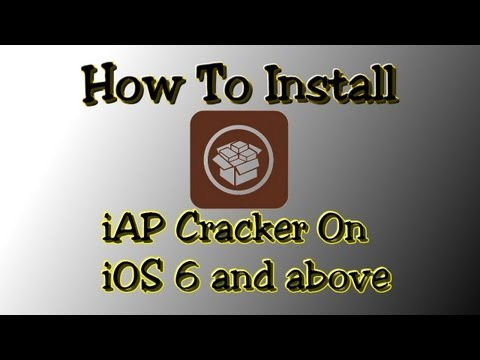 iap - PLEASE READ*** Hey guys, in this video I show you how to get iAP Cracker on iOS 6, iOS 6.0.1, iOS 6.1 and iOS 6.1.2. You must watch all of it otherwise yo...