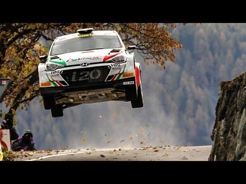 Andolfi Crazy JUMP - 57° Rallye du Valais 2016 - Pure Sound [HD]