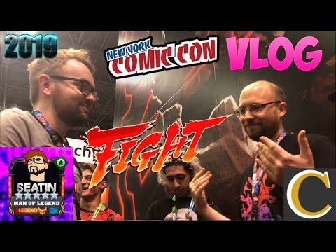 NYCC VLOG 2019! Seatin and Brian Finally Fight! - Marvel Contest of Champions