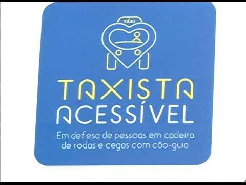 [JORNAL DA TRIBUNA] Taxistas passam por capacitação para melhorar o tratamento com deficientes