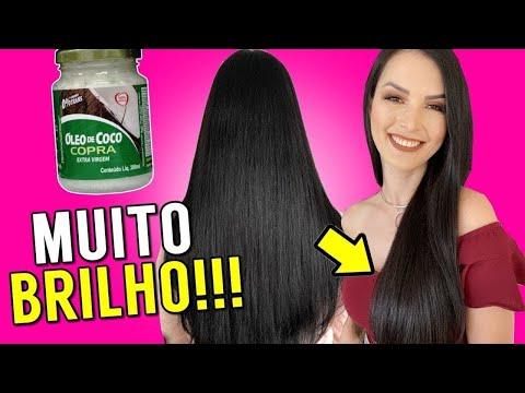 Aprenda a hidratar o cabelo com óleo de coco