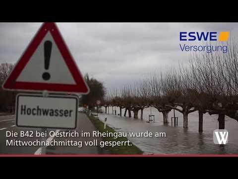 Impressionen vom aktuellen Hochwasser Januar 2018