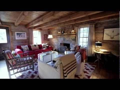 Interior Design — Cosy & Rustic Wood Ski Cabin In Collingwood
