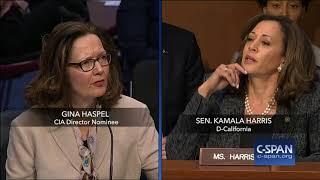 Video Exchange between Sen. Harris and CIA Director Nominee on torture (C-SPAN) MP3, 3GP, MP4, WEBM, AVI, FLV Oktober 2018