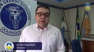Alan Guedes fala sobre a doação do IR ao Fundo Municipal dos Direitos da Criança e do Adolescente