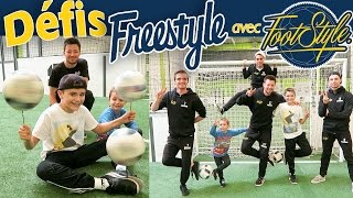 Video DÉFIS & TRAINING FREESTYLE avec FOOTSTYLE TV ! ⚽️ MP3, 3GP, MP4, WEBM, AVI, FLV Oktober 2017