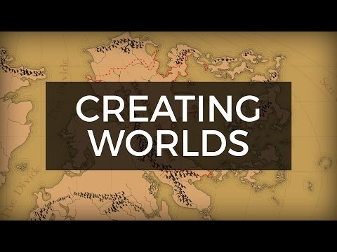 Drawing and Building a Fantasy World Map  - Weekend Update