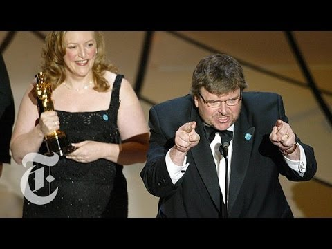 politics - From Michelle Obama to Michael Moore to Marlon Brando (or not Marlon Brando), the Oscars have a long political history, explains Sam Tanenhaus of The Times. ...