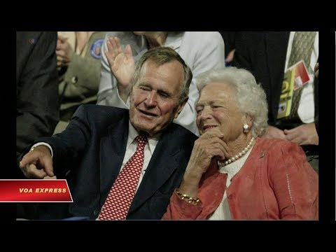 Sức khỏe cựu đệ nhất phu nhân Barbara Bush suy kiệt