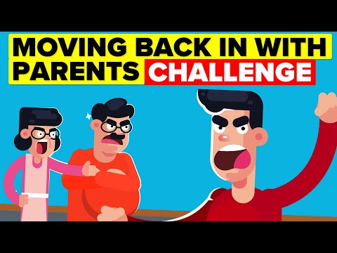 I Had To Move Back In With My Parents For 30 Days And This is What Happened (FUNNY CHALLENGE)