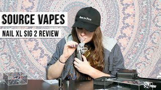Macdizzle420 gives the best FJ ever while reviewing the Source Vapes Sig2 by HighRise TV
