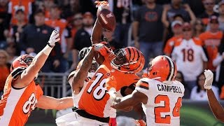 Is This A.J. Green Catch Better Than OBJ's Famous One-Hander? by Obsev Sports
