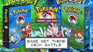 Pokémon TCG - Blackout & Overgrowth Base Set Theme Deck Battle! by The Pokémon Evolutionaries