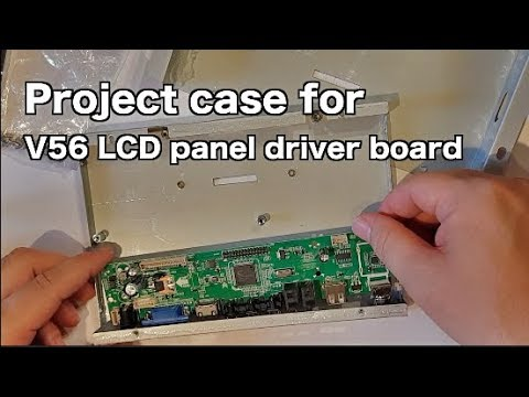 Project Case For V56 LCD Panel Driver Board